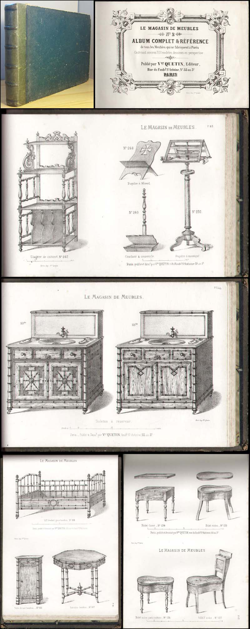 m bel katalog v quetin le magasin de meubles 1870. Black Bedroom Furniture Sets. Home Design Ideas